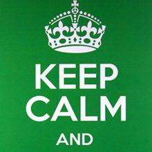 Keep calm bordjes